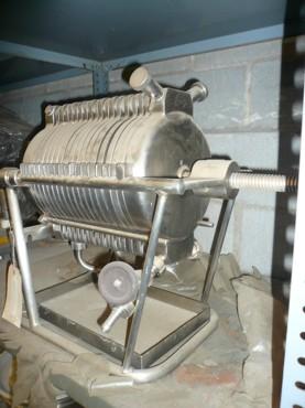 Filtro prensa laboratorio