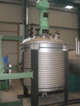 Reactor con doble fondo